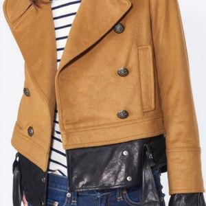 Veronica Beard Yara Jacket Short Pea Coat size 4
